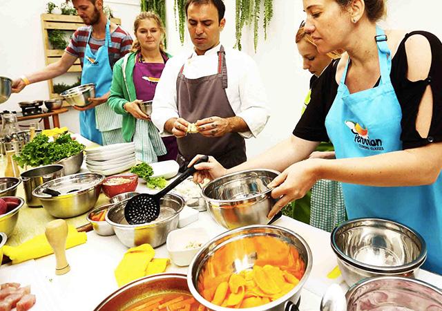 Peruvian Cooking Classes Food / Menu options